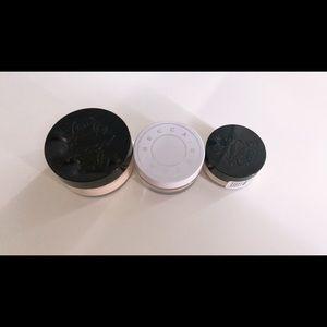 Two setting powder